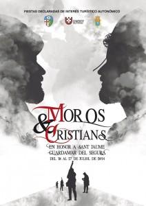 CARTEL MOROS Y CRISTIANOS GUARDAMAR 2014