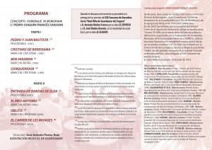 PROGRAMA FIESTAS 2014