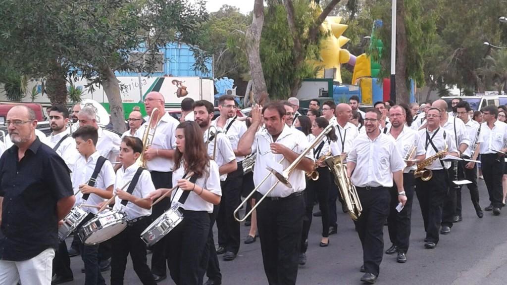 Pasacalles previo al Concierto de Fiestas