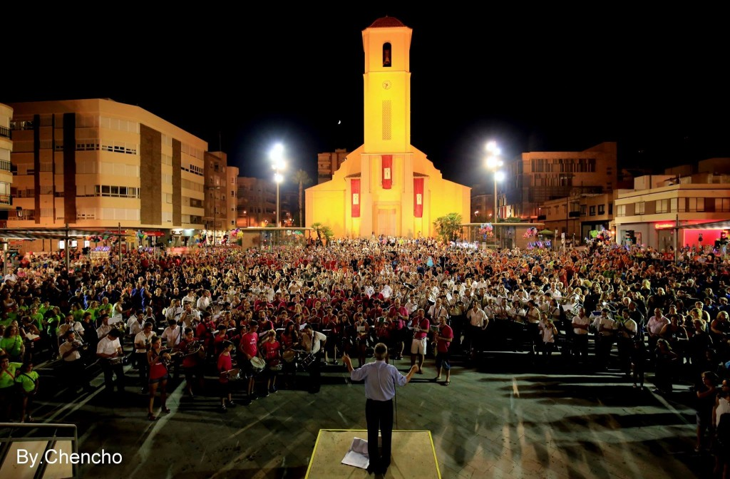 Foto Interpretación Himno de Fiestas