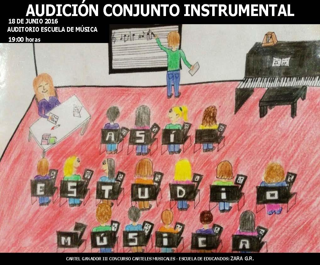 AUDICIÓN FIN DE CURSO CONJUNTO INSTRUMENTAL